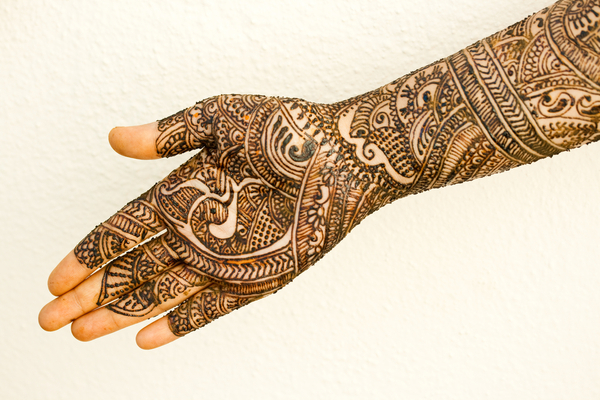 Intricate Mehndi Designs for Hands