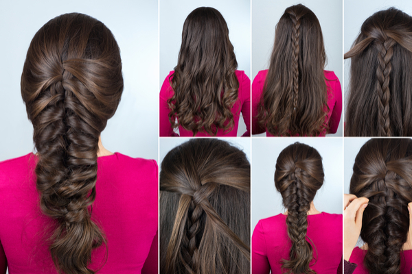 Layered Braid Hairstyle