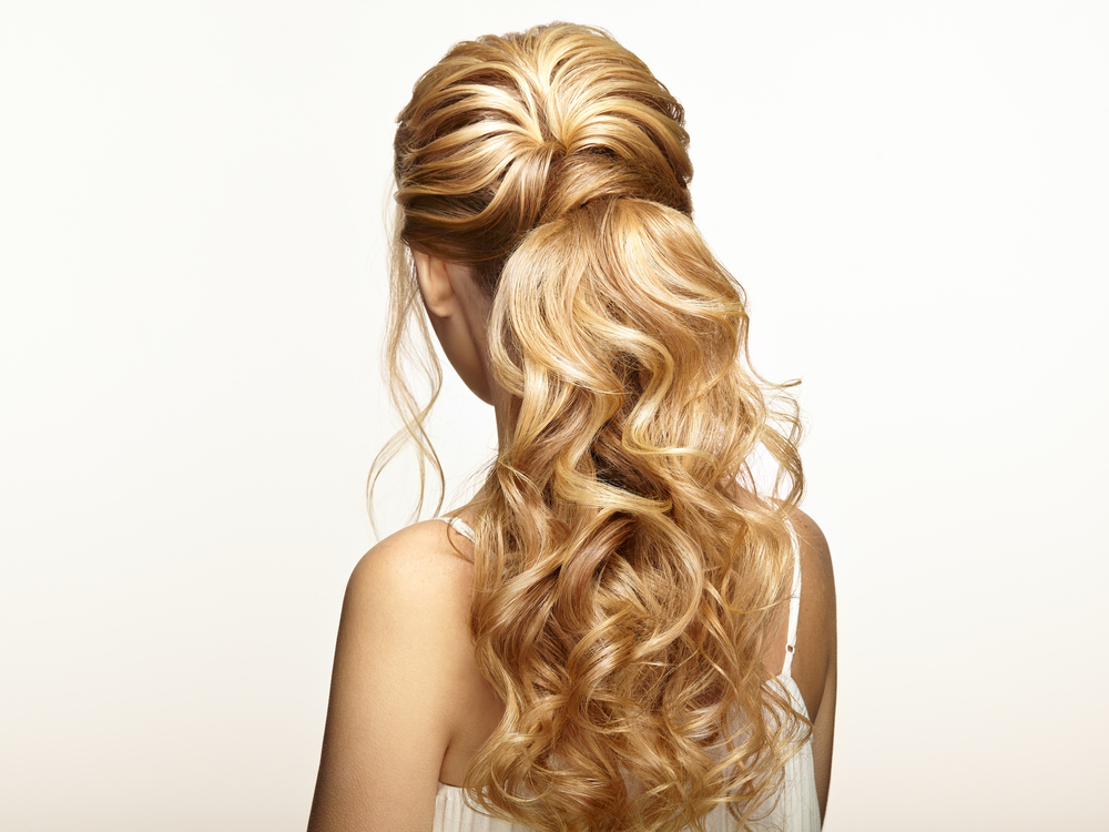 Ruffle that ponytail - flaunt those curls!